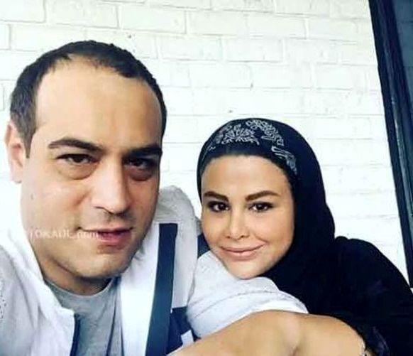 عاشقانه های امیریل ارجمند و همسرش + عکس