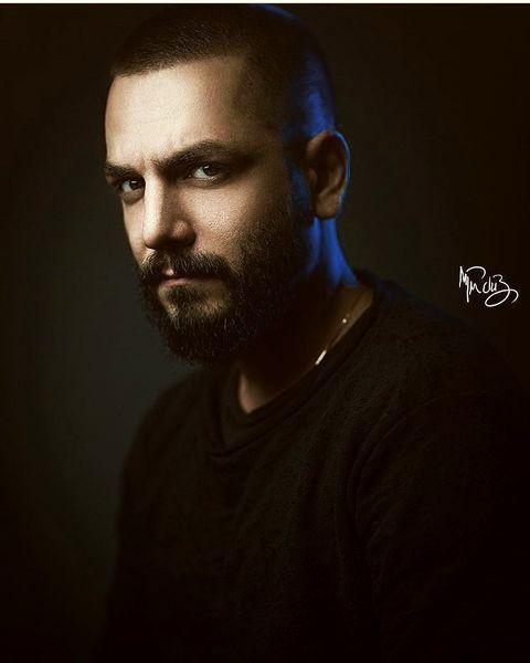 عباس غزالی موهاشو تراشید+ عکس