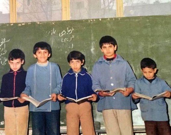 ظاهر مظلوم ارژنگ امیرفضلی در کودکی+عکس