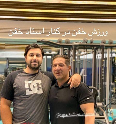 عکس ورزشکاری خفن احسان خواجه امیری