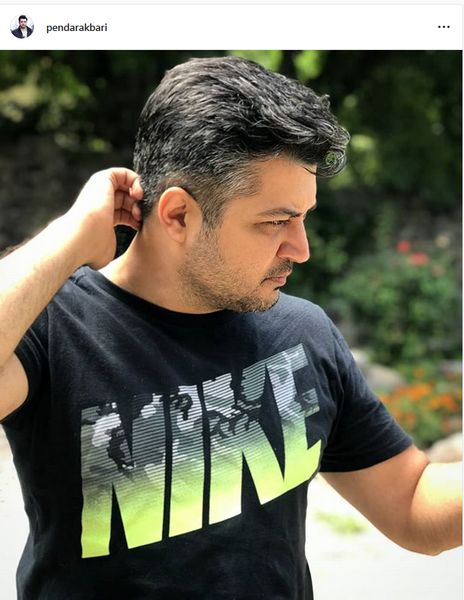مدل مو جدید پندار اکبری+عکس