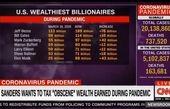 فهرست افزایش ثروت ثروتمندان آمریکا در دوران کرونا