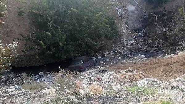سقوط هولناک پژو به عمق 10 متری دره فرحزاد !