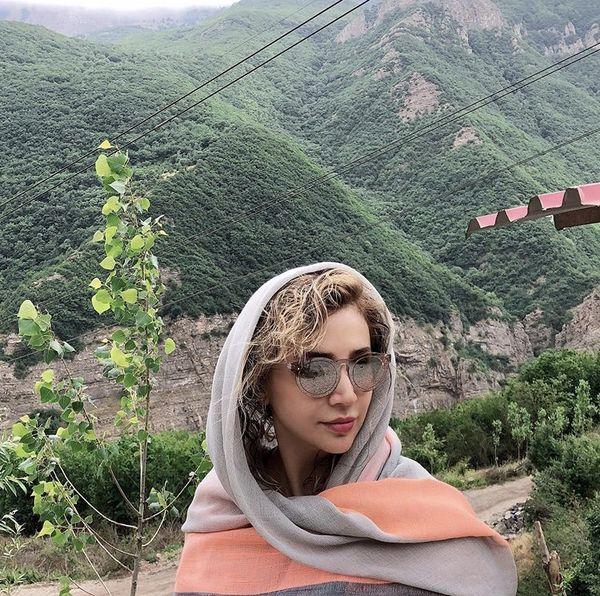 شبنم قلی خانی در شمال + عکس