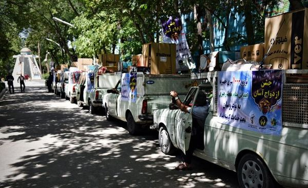ارسال ۲ هزار جهیزیه اهدایی رهبر معظم انقلاب به مناطق محروم کشور