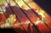 اجرای ویدئو مپینگ محرم در برج آزادی