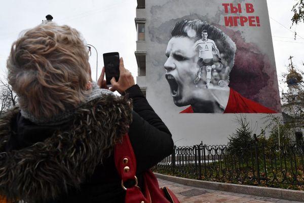 دیوارنماییهای فوتبالی در روسیه