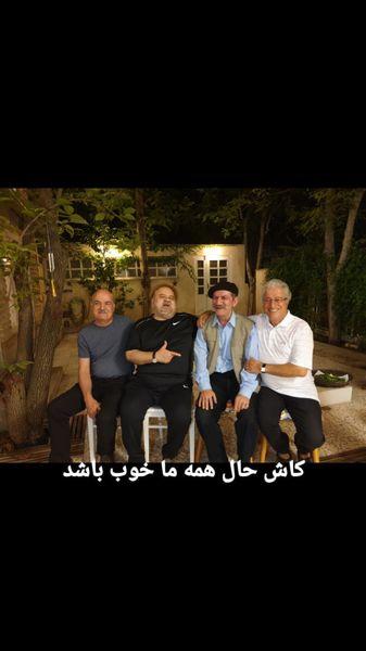 جمع بازیگران خاطره ساز دهه شصت وهفتاد + عکی