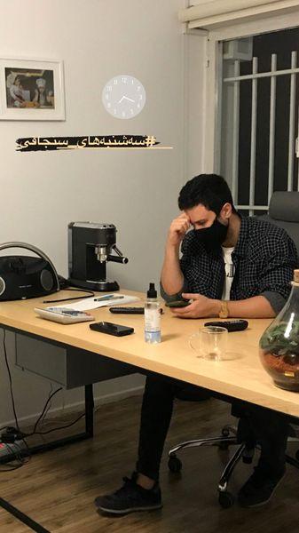 شب کاری های شاهرخ استخری + عکس
