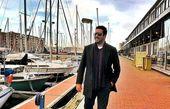 قدم زدن امید حاجیلی در سواحل اروپایی + عکس