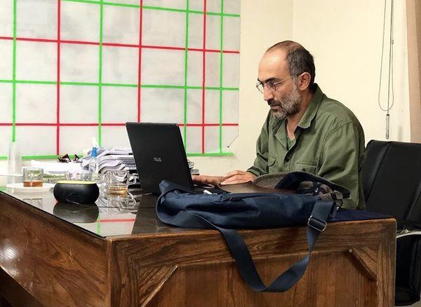 هادی حجازی فر در محل کارش + عکس