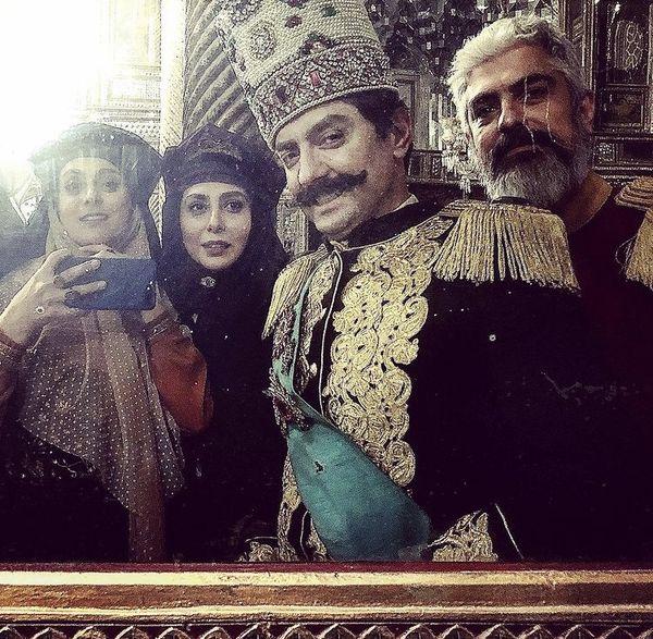 غزل شاکری و نصرالدین شاه + عکس