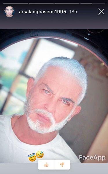 پیرمرد جذاب و خوشتیپ سینما+عکس