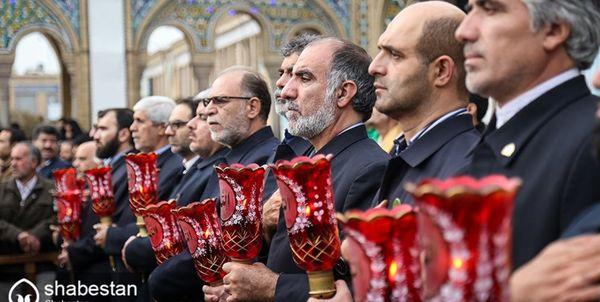 برنامههای اربعین در حرم حضرت عبدالعظیم