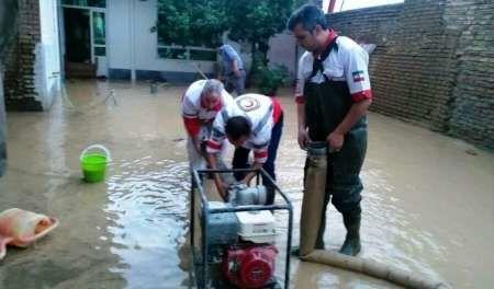 امدادرسانی به 628 نفر گرفتار سیلاب در خراسان رضوی