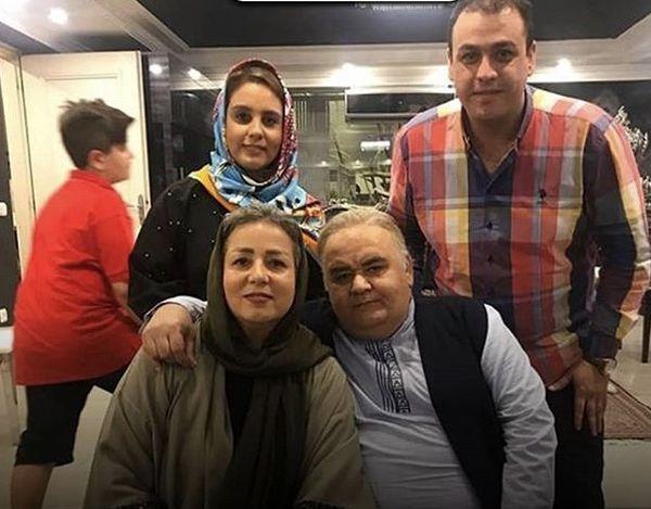 خانواده چهار نفره اکبر عبدی + عکس
