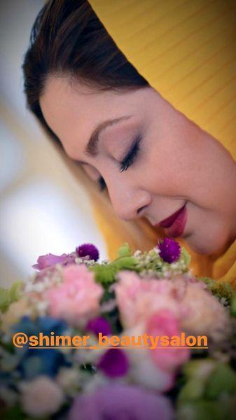 مریم سلطانی و گلهای لاکچریش + عکس