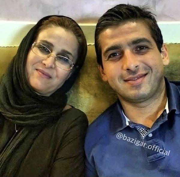 حمید گودرزی و مادر جوانش + عکس