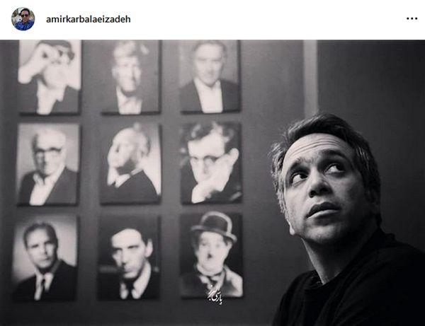 امیر کربلایی زاده در میان کمدین های مشهور جهان + عکس