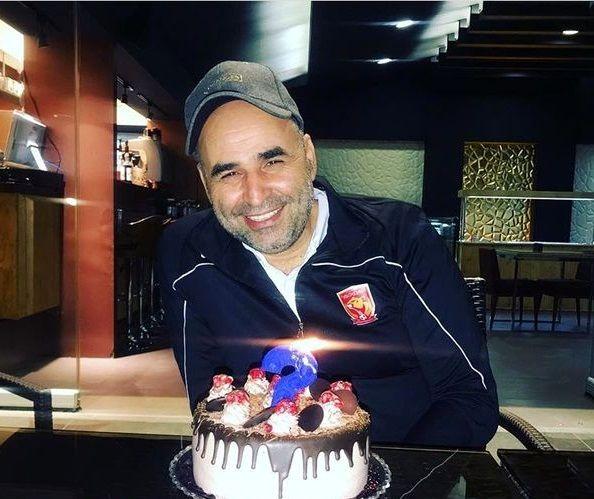 تولد خصوصی علی مسعودی در باشگاه+عکس