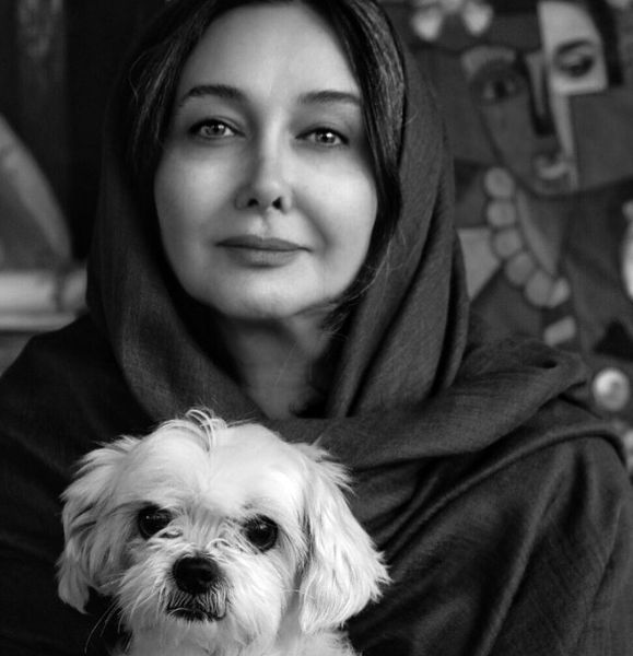 کتایون ریاحی و سگش + عکس