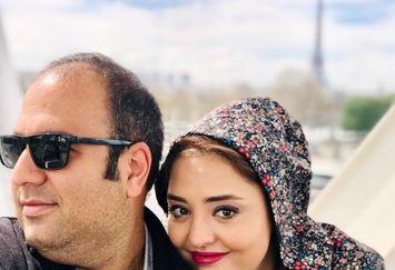 عکس  زوج بانمک معروف در خارج از کشور