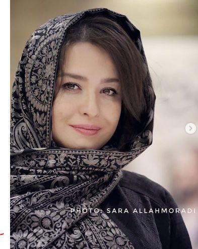 عکس ملیح زمستانی مهراوه شریفی نیا