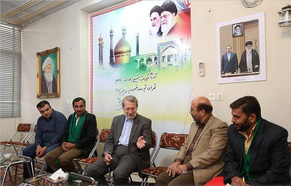 دیدار رئیس مجلس با اعضای شورای اسلامی قم