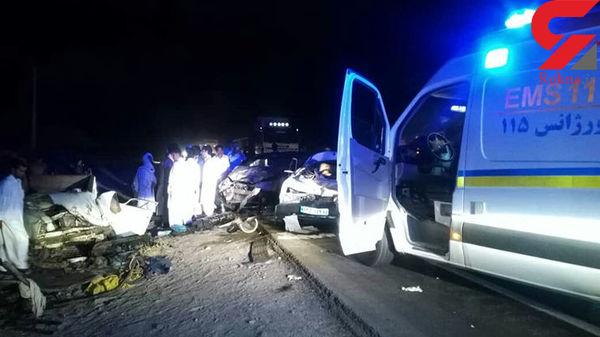 ۹ کشته و زخمی بر اثر تصادف زنجیرهای در سیستان وبلوچستان