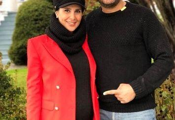 عکس قبل از بچه دار شدن سام درخشانی و همسرش