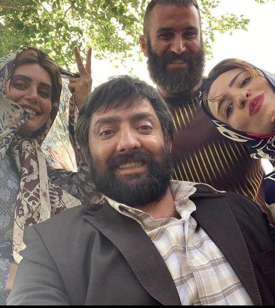 گریم هایی دیده نشده از بازیگران ابلق + عکس