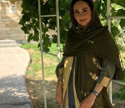 مریم خدارحمی و شعری از حافظ
