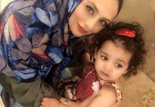 یکتا ناصر با دختر ناز موفرفری اش+عکس