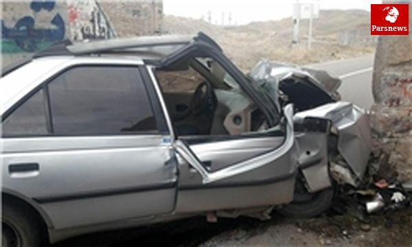 ۲ تصادف مرگبار رانندگی با ۱۰ کشته و مجروح