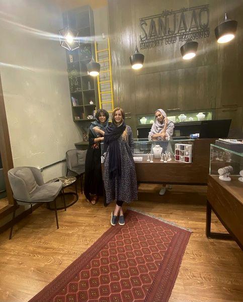 حضور شقایق دهقان در فروشگاه بازیگر مشهور + عکس
