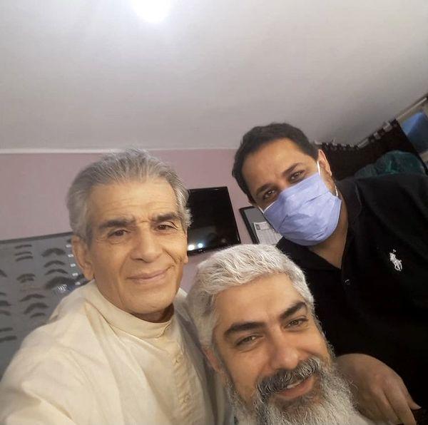 محمد شیری در کنار همسر سابق بازیگر مشهور + عکس