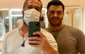 میلاد کیمرام در کنار دوستش + عکس