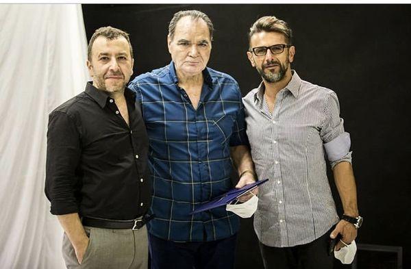 محمدرضا مالکی در کنار بازیگران معروف + عکس