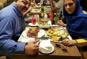 آقای بازیگر بادیگارد سابق و همسرش+عکس