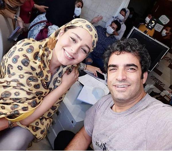 سانیا سالاری در کنار کارگردان مشهور + عکس