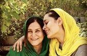 عاشقانه های سانیا سالاری با مادرش + عکس