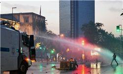 تظاهرات دوباره مردم در استانبول+فیلم