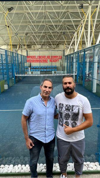 میلاد کی مرام و دوستش در باشگاه انقلاب + عکس