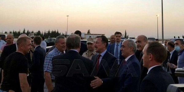 یک هیئتی عالی رتبه روس وارد دمشق شد