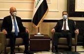 رایزنی رئیس جمهور و نخست وزیر عراق درباره اوضاع امنیتی و اقتصادی