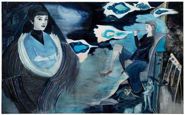 زنان اسرارآمیز نقاشیهای «رُزا لوی» + عکس