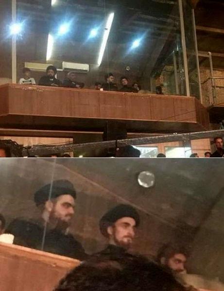 سیداحمد خمینی به دلیل حضور در جایگاه ویژه حسینیه  عذرخواهی کرد