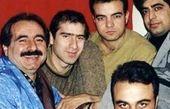 خاطره بازی سعید آقاخانی با دوستان قدیمی اش + عکس
