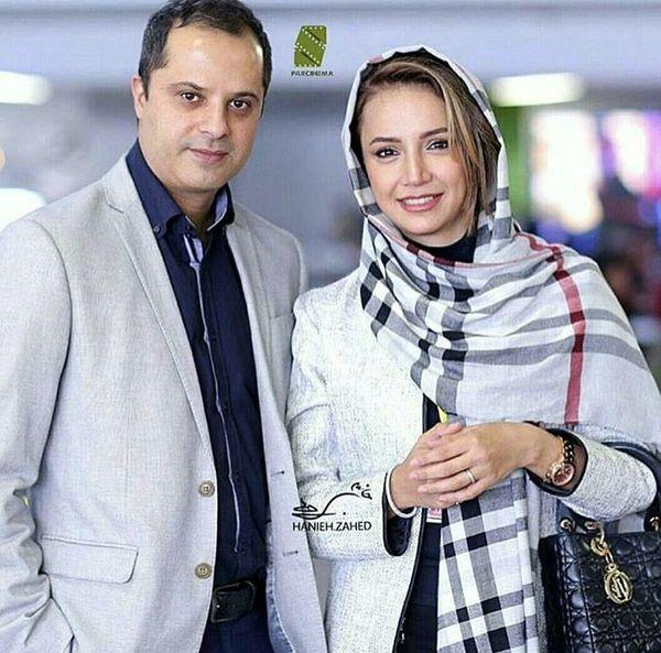 شبنم قلی خانی و همسرش + عکس