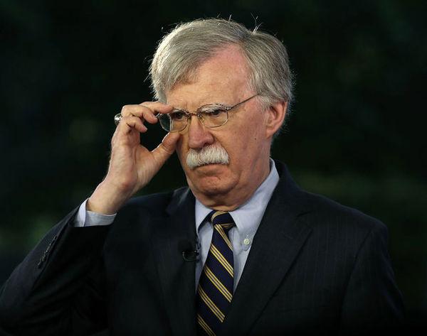 پیام توییتری بولتون علیه برنامه موشکی ایران
